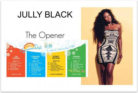 Jully Black – Kick off to Summerfest!