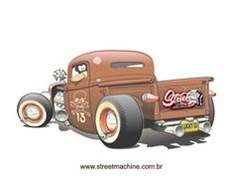 Vintage Car Graphic