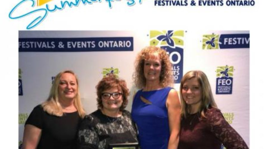 Pelham Summerfest Named One of 2017 Top 100 Festivals & Events in Ontario