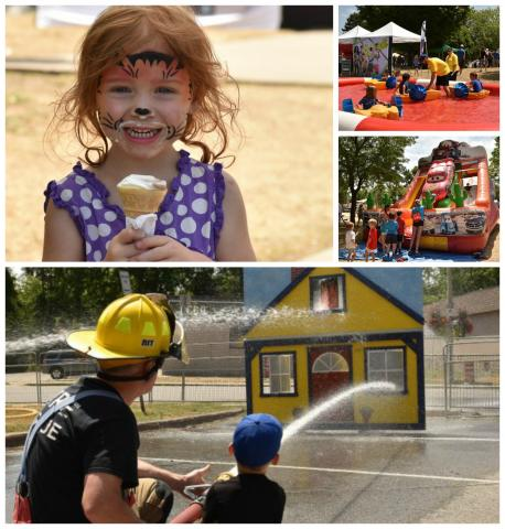 Summerfest Kids Zone is THE place for kids to be on Saturday, July 15!