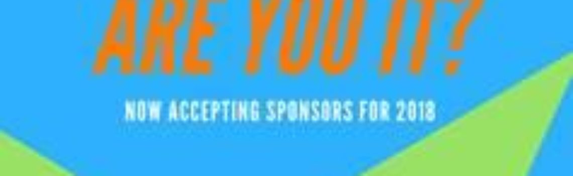 Are You It? Now Accepting Summerfest 2018 Sponsors